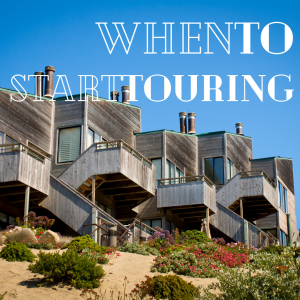 When to start touring houses