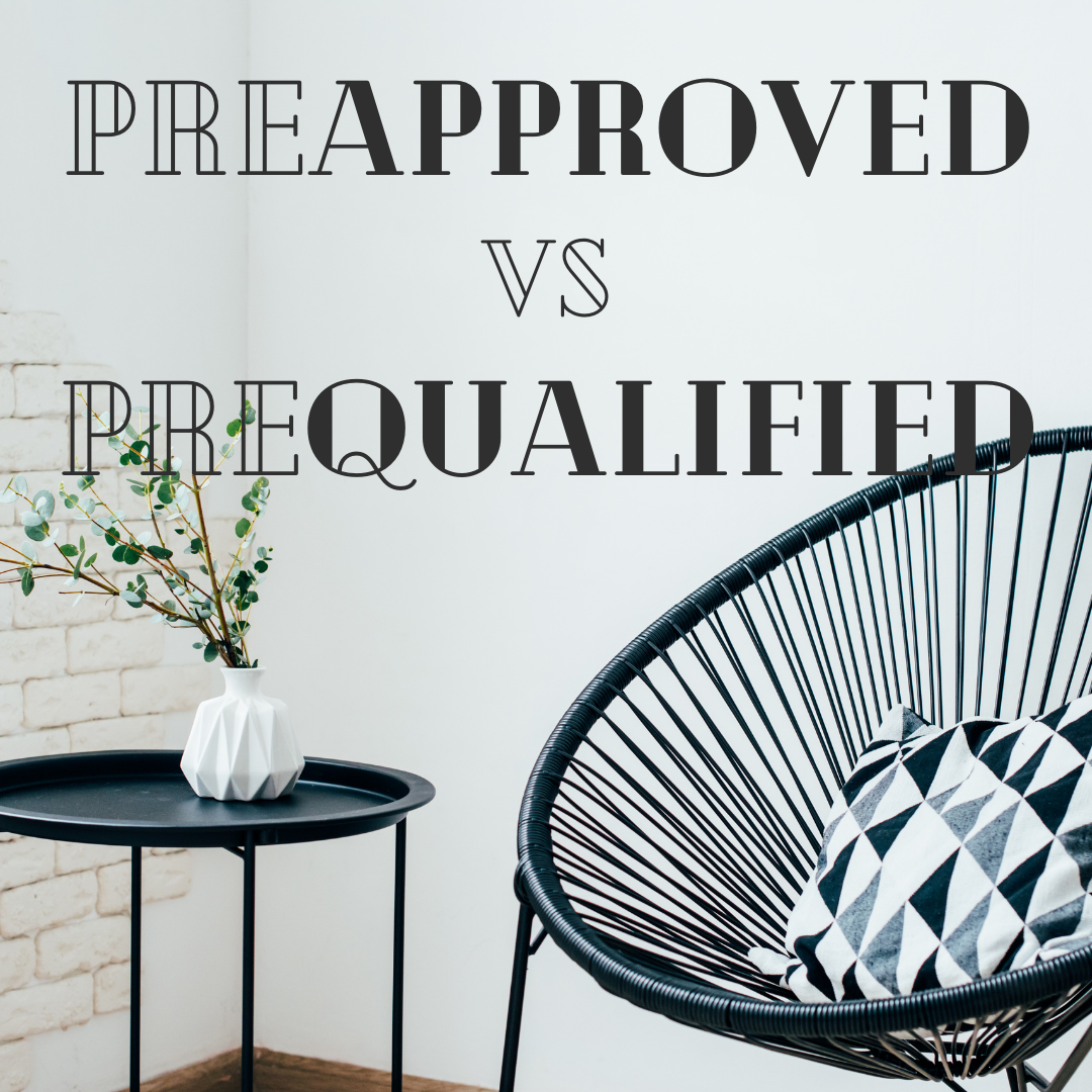 Pre-Approved vs Pre-Qualified