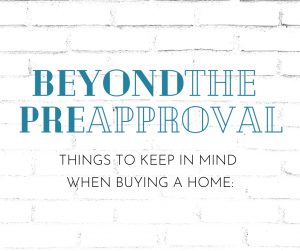 Beyond the Pre-Approval Blog Post